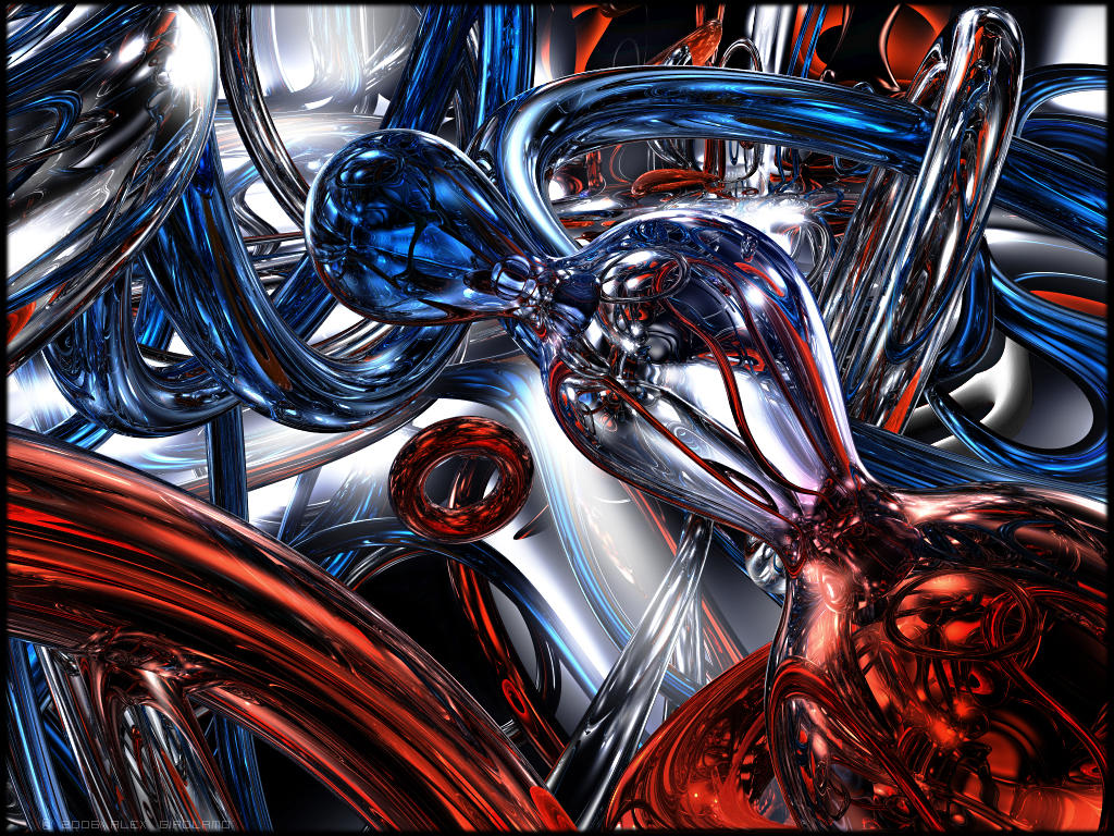 Red White And Blue By Girolamo