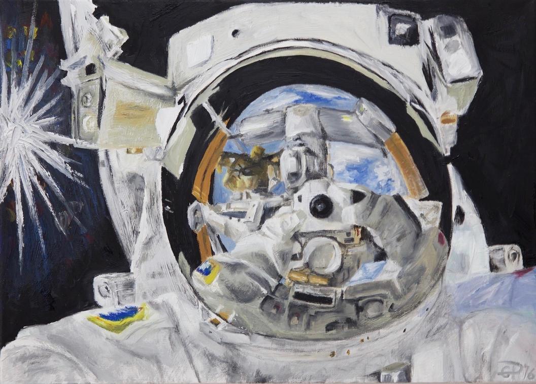 Spaceman Selfie by gp42