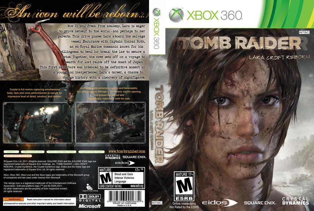 Tomb Raider CA_Xbox 360 by Klypz31 on DeviantArt