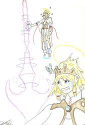 Magic of a priestess