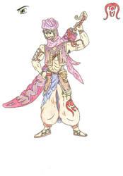 Warrior of the sands
