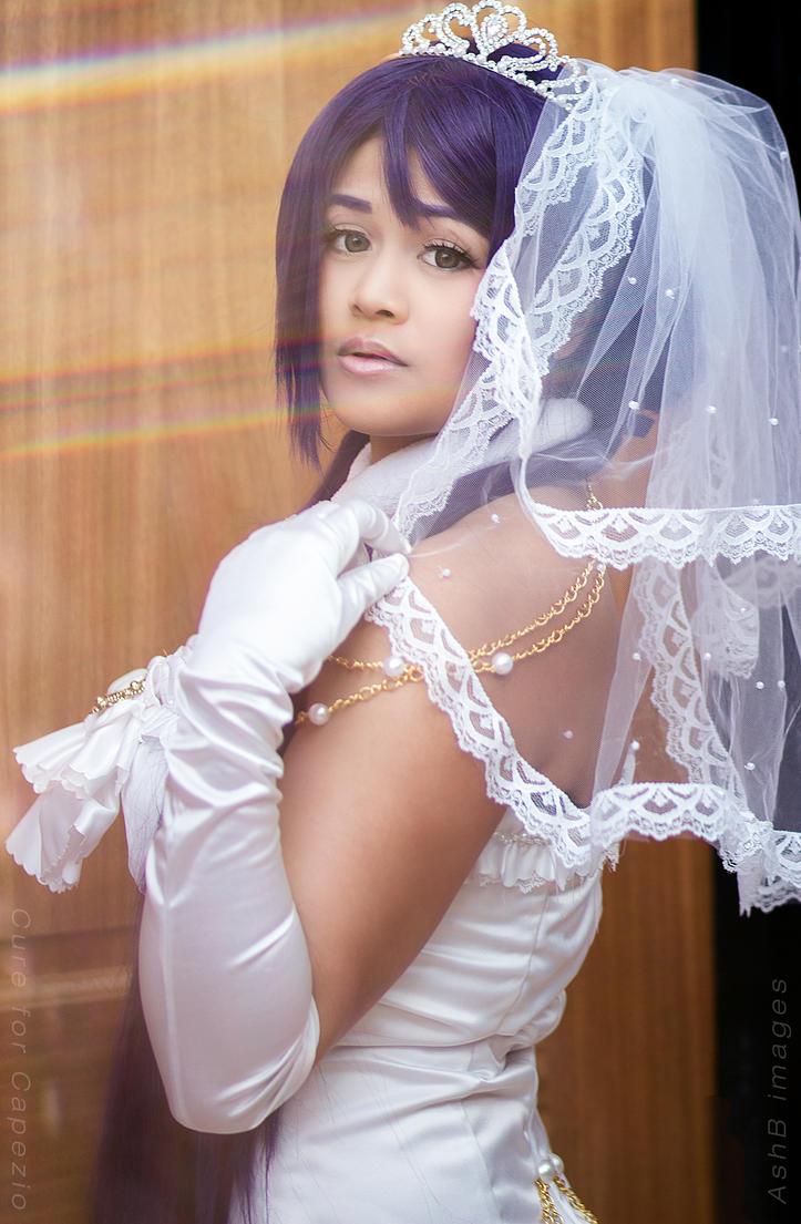 Wedding Nozomi by CureforCapezio