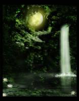 Background Waterfall
