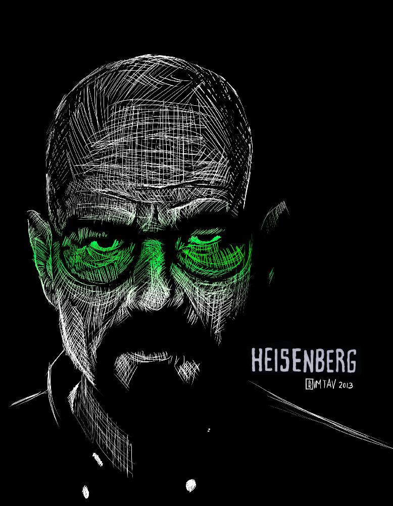 Heisenberg for OKWAHO notebooks by Bimtav
