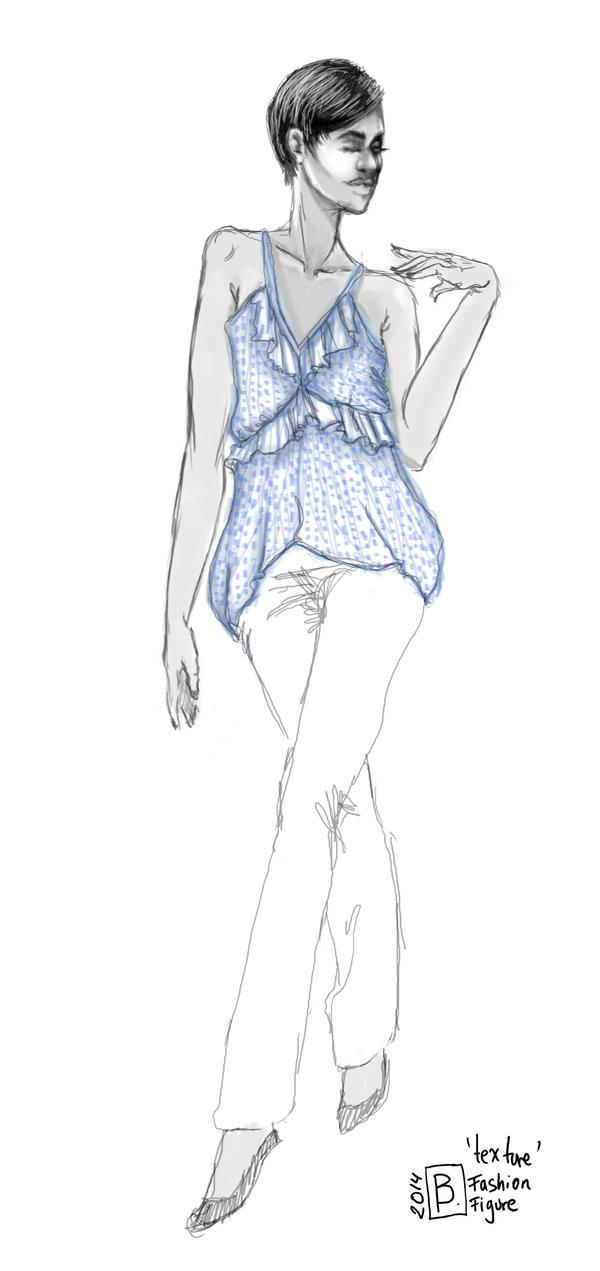 blue texture by Bimtav