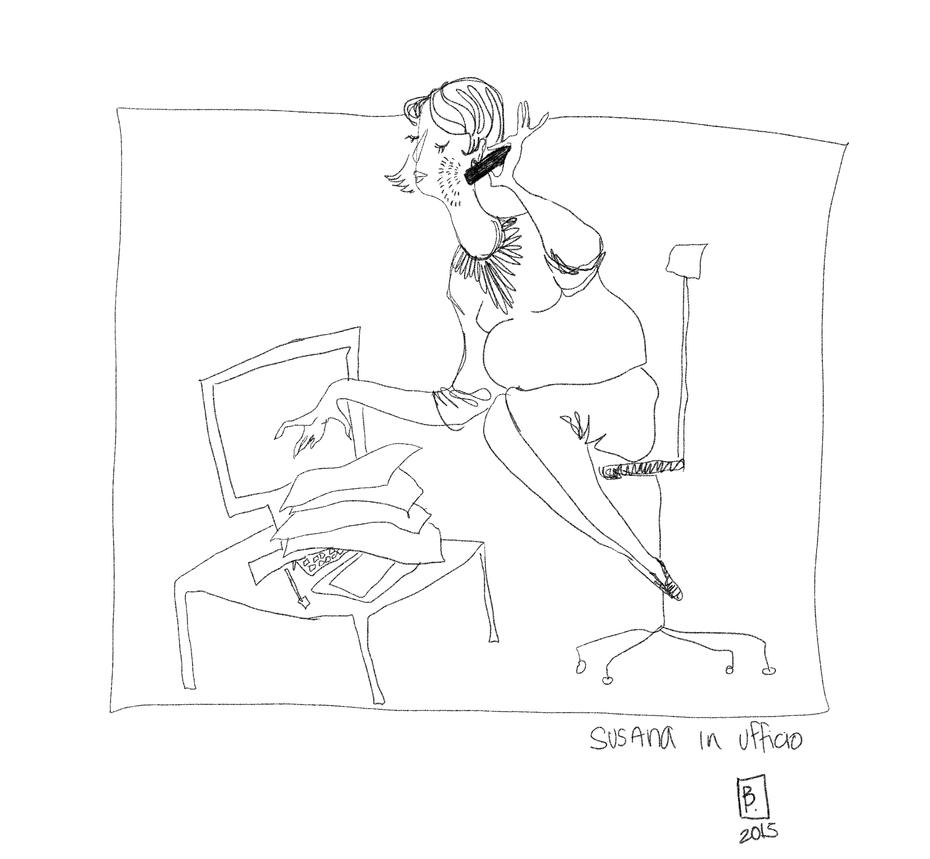 friday sketch by Bimtav