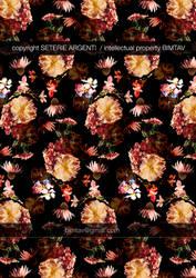 Maxi flower pattern