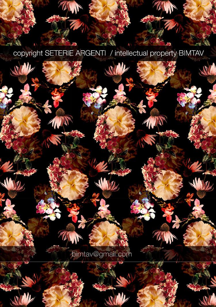 Maxi flower pattern by Bimtav