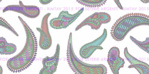 Paisley for Seterie Argenti