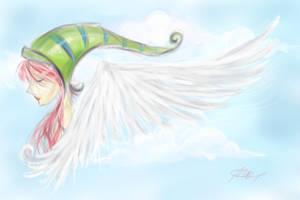 Angel? Fairy? by evanngelinek