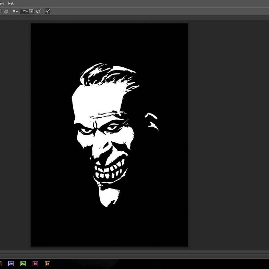 the man who laughs by RENNSNE