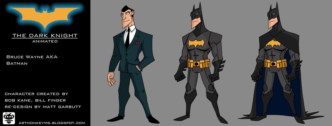 The Dark Knight Animated by ARTMONKEYMG
