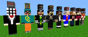 YouTube Minecrafters (MMD)