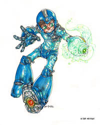 Megaman by altmess