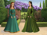 Princess Merida and Queen Elinor