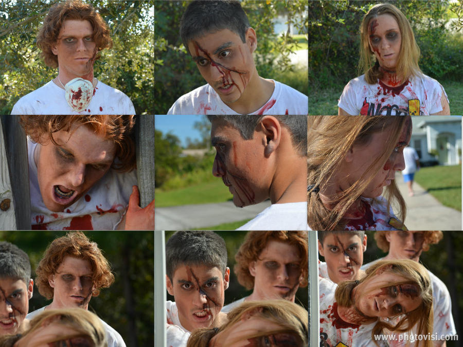 Zombie Project Collage 1 by RiseAgainstCEDA