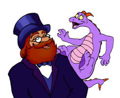 Dreamfinder and Figment by Vailiya