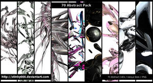 70 Abstract Pack
