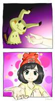 Be my friend~ Mimikyu