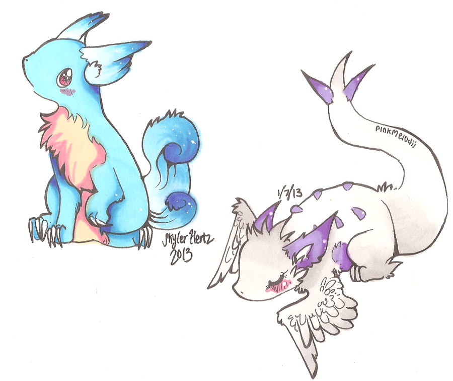 Pokemon Customs by PinkMelodii