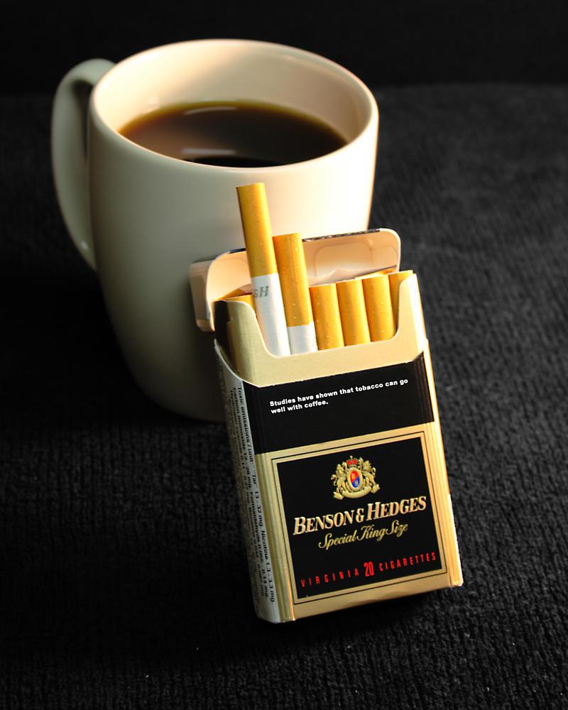 Открытки, открытка сигареты