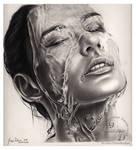 Breathing Water- series aqua by GDartstudios
