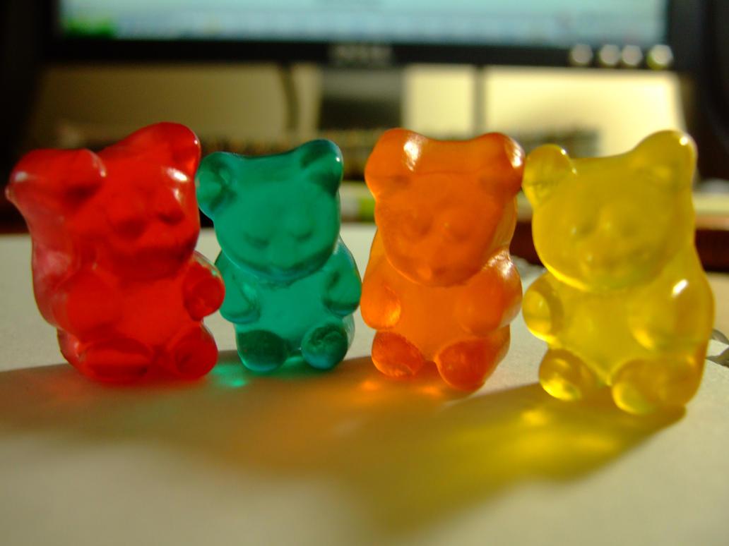 gummy bears by euniceesh on deviantart