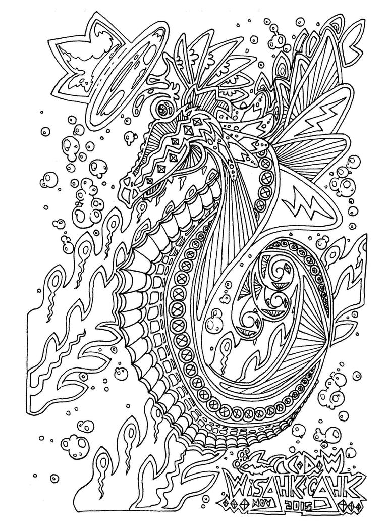Sensational Mr.Seahorse by wisahkecahk