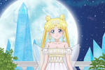 Neo Queen Serenity in Sailor Moon Crystal 3 style