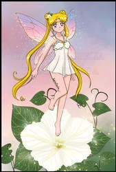 Sailor Moon Moonflower Fairy by Fegarostalida