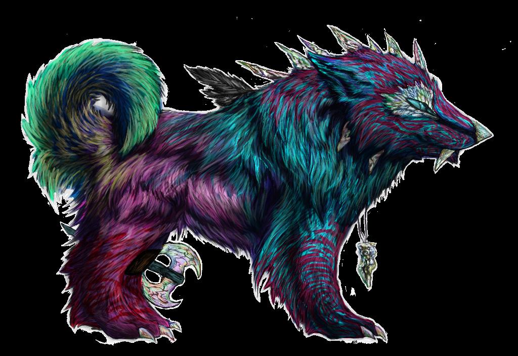 Dragon-dog by Xaralta