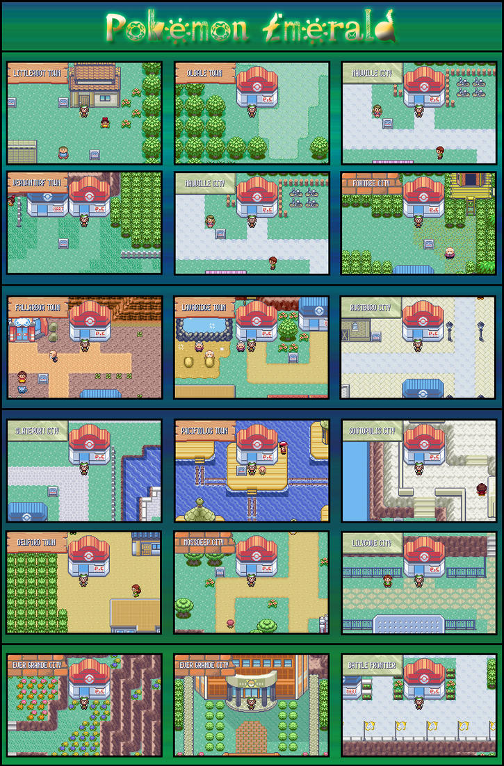 how to get to mauville city in pokemon emerald