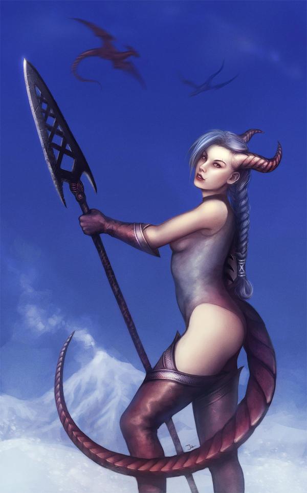 Half-Dragon by JuneAgain