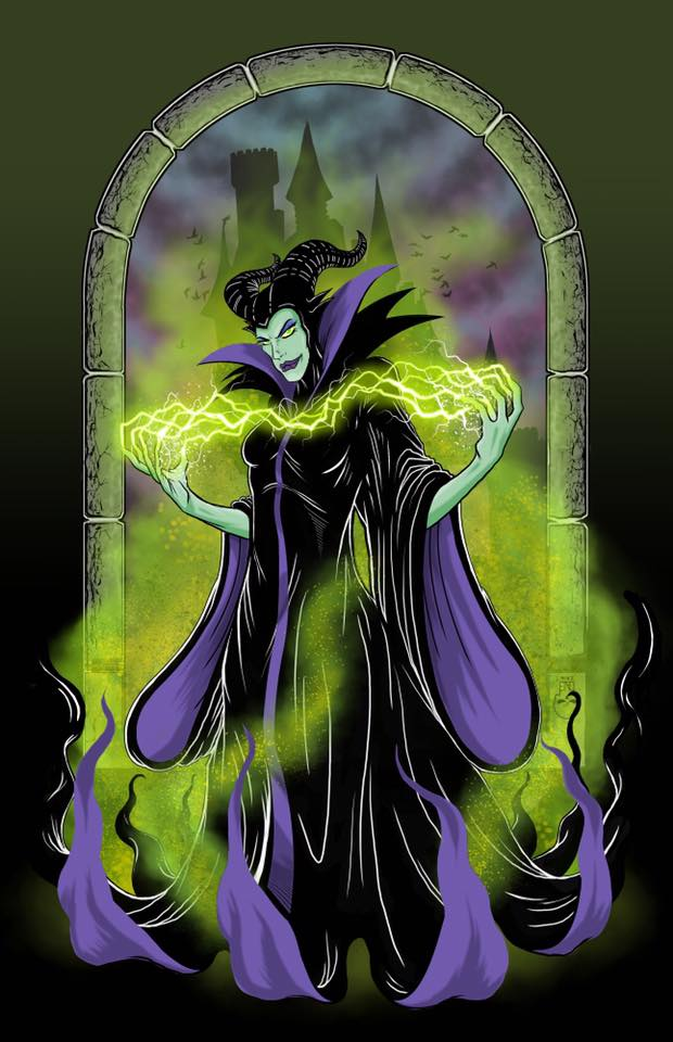 Maleficent by thedavemyers