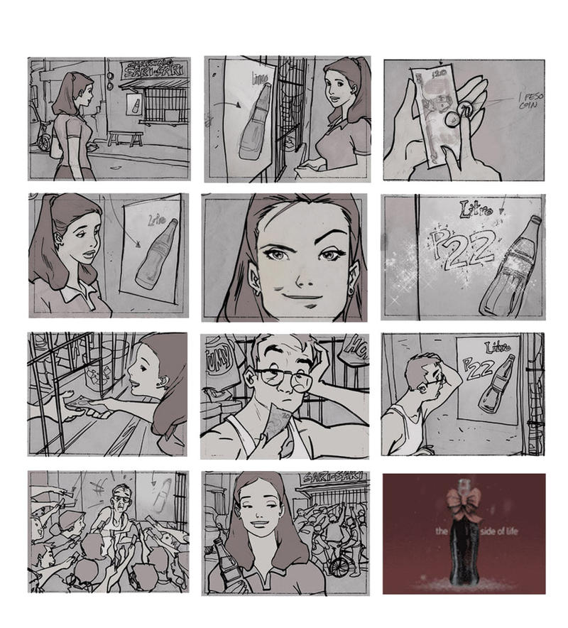Tv Commercial Storyboard By Makulayangbuhay On Deviantart