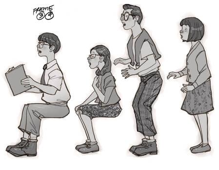 character pose_animatics