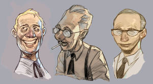 late show sketches by makulayangbuhay