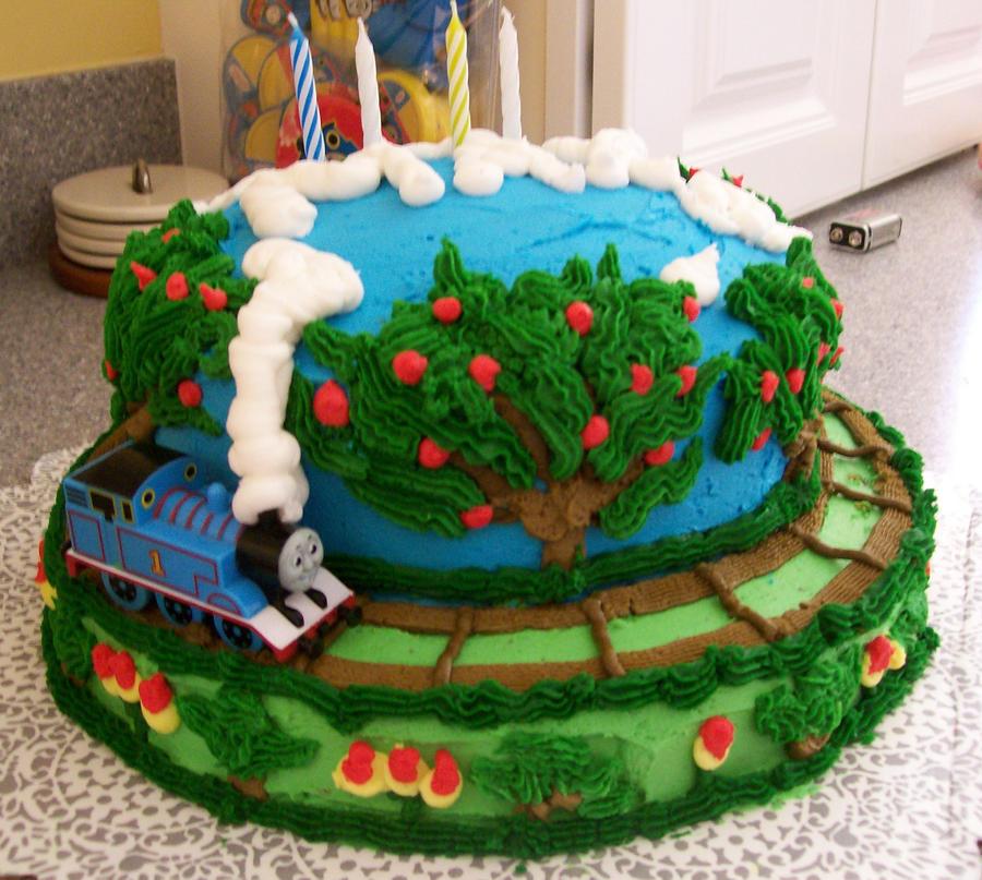 Thomas Train Cake Pictures Thomas Train Cake by Melis99
