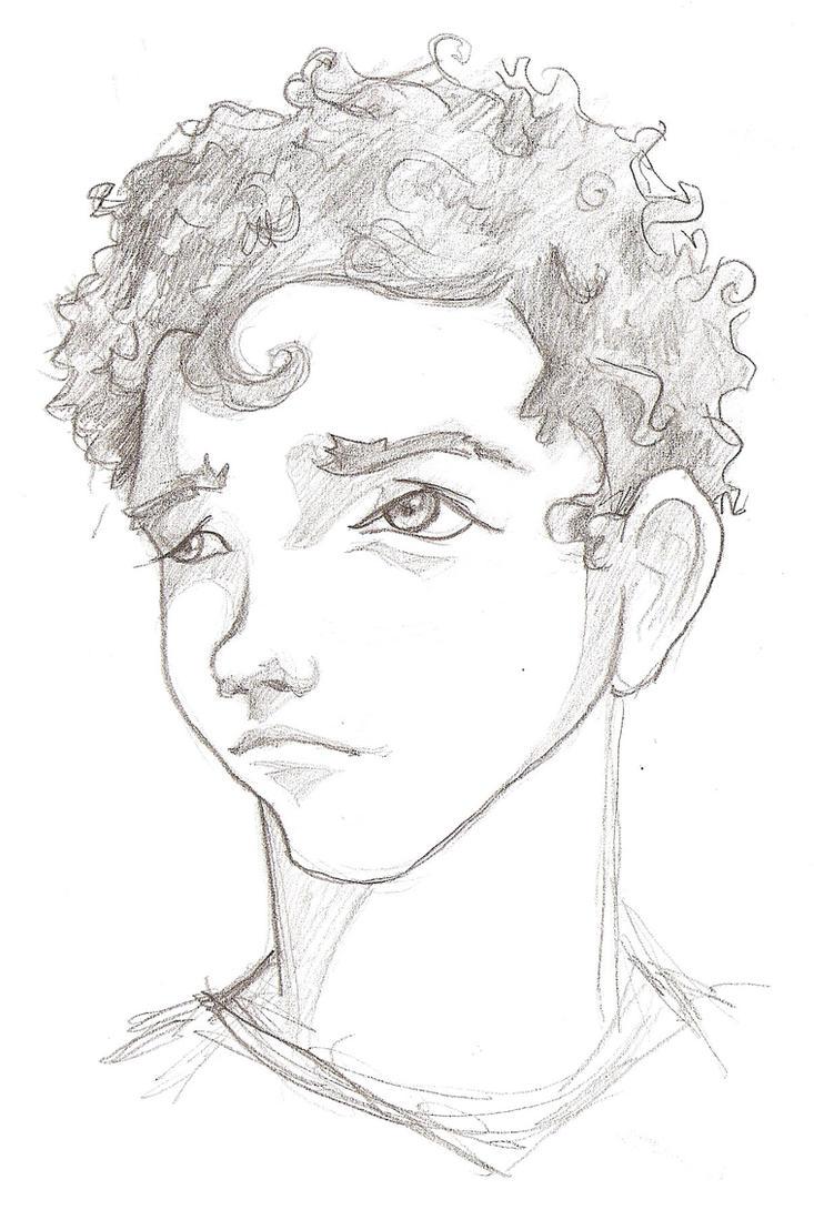 Curly Head Boy by madizr on DeviantArt