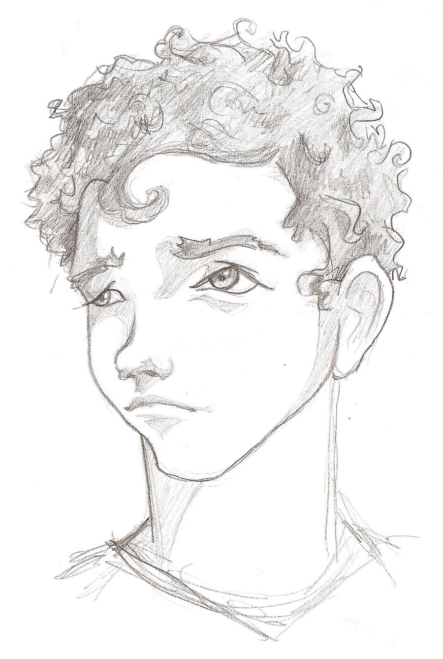 Curly Anime Boy Hairstyles