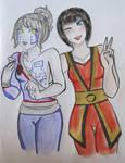 Ninjago - Anime girls 1#