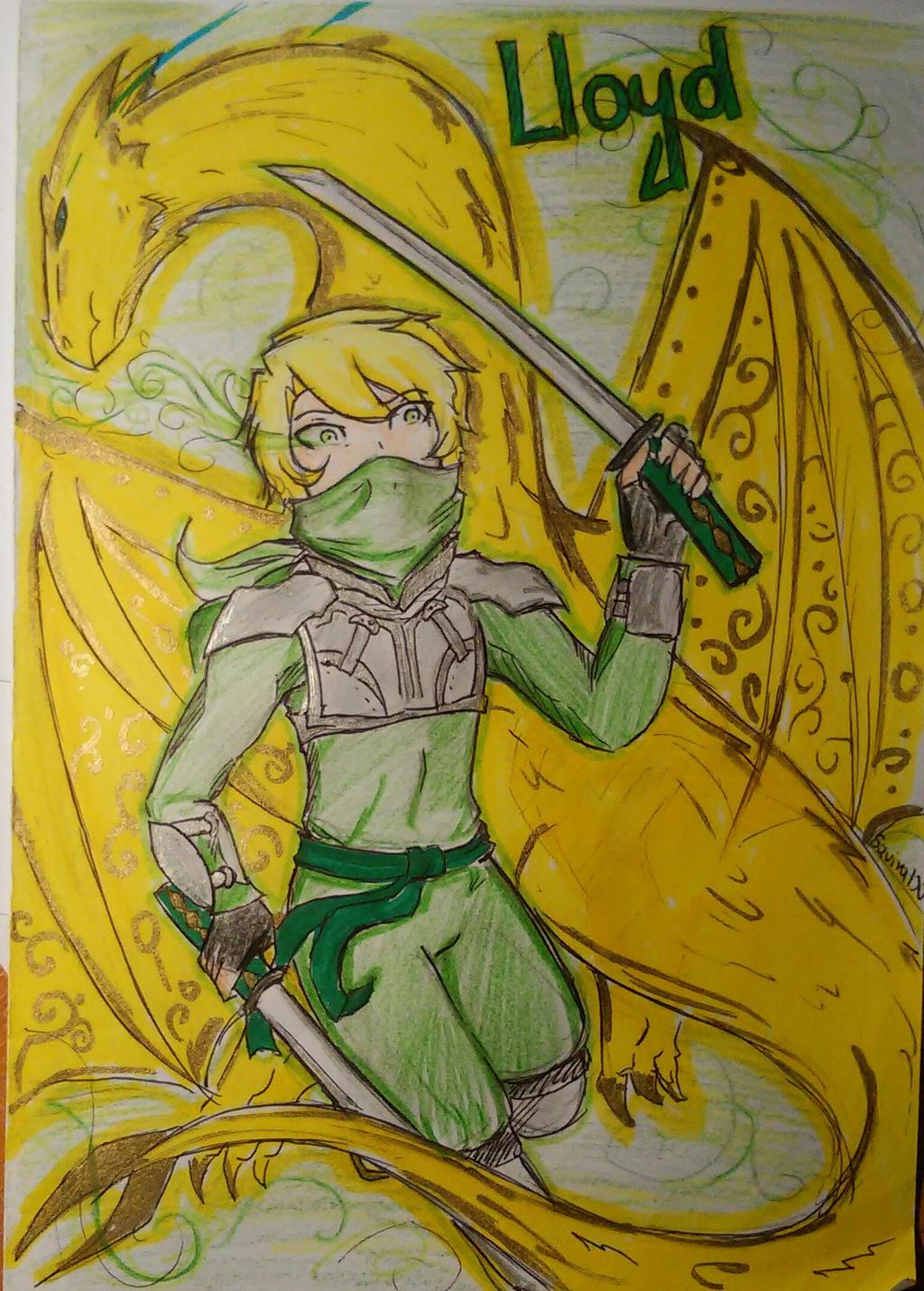Ninjago - Lloyd (I'm still the truly gold master) by ...