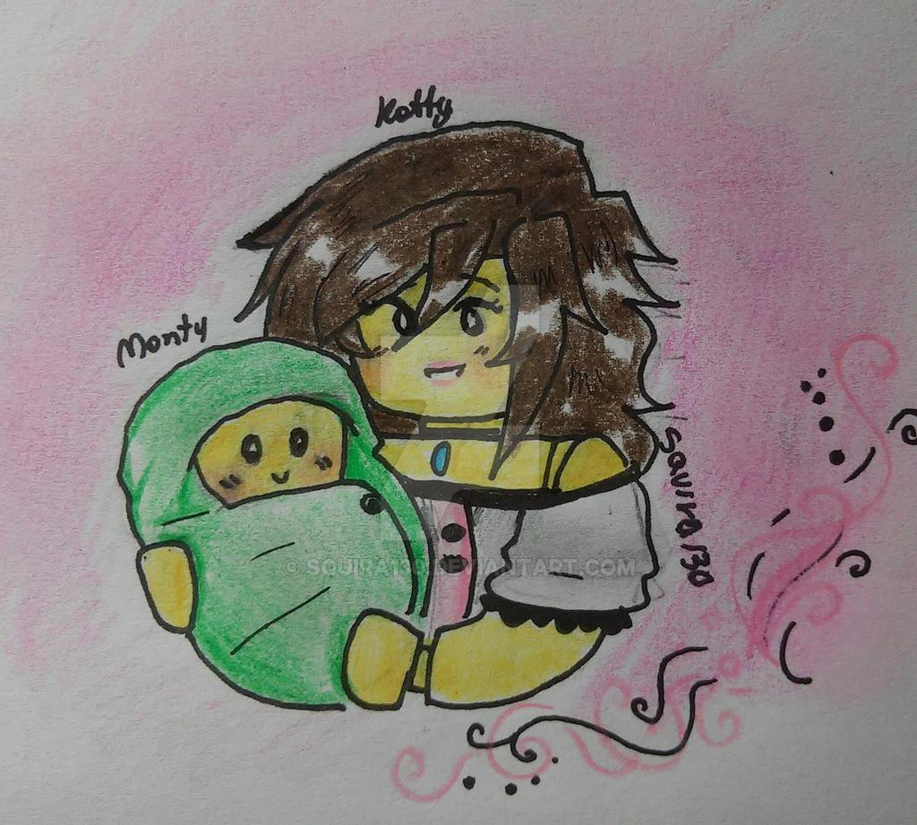 Katty and Monty II by Squira130