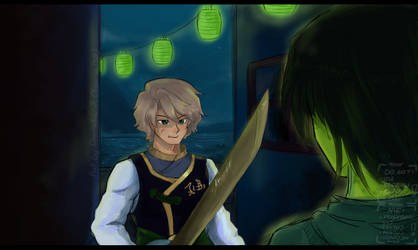 Ninjago - Lloyd 2015 (redraw in 2016) by Squira130
