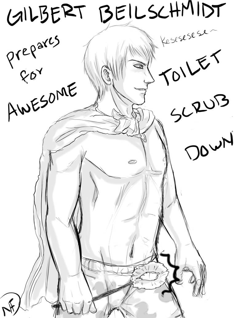 Sexy Prussia Toilet Master by one-who-draws on DeviantArt
