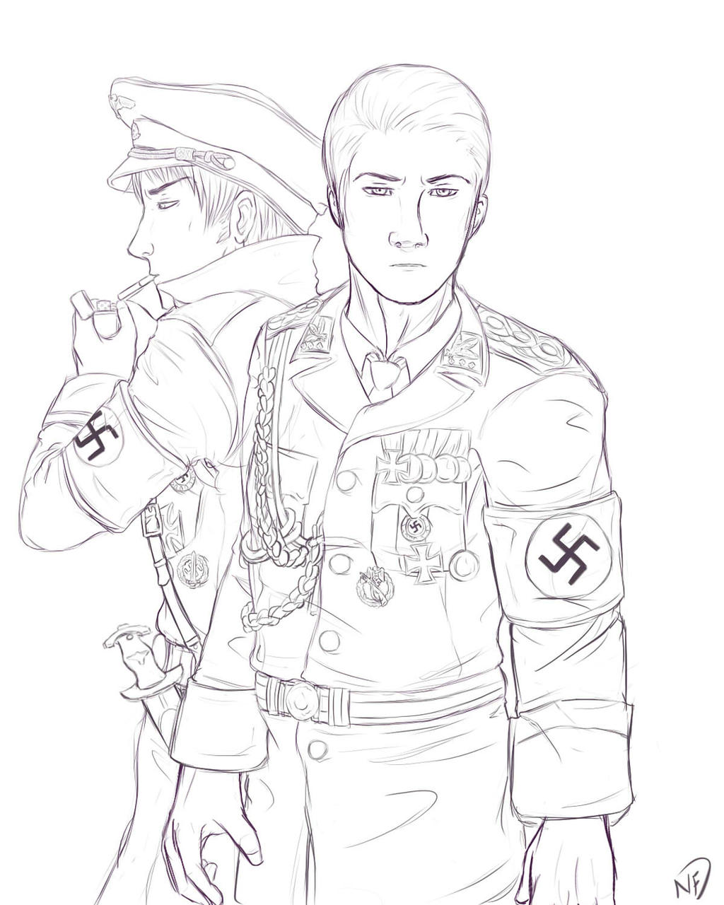 nazi soldiers coloring pages