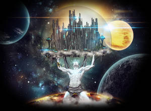 'Atlas', ciberpunk version