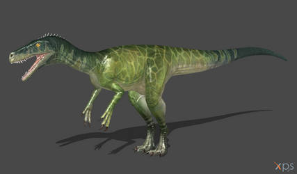 [The Isle] Herrerasaurus (wip) by Phelcer
