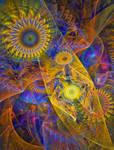 Wheels Of Starry Night