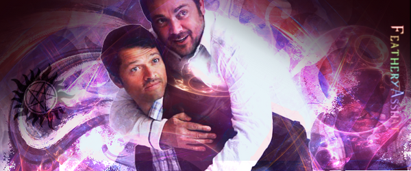 Misha and Mark Banner by FeatheryAsshat
